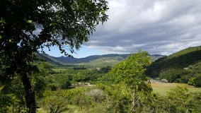 Landscape around the Cañón de Somoto. In Nicaragua Royalty Free Stock Photography