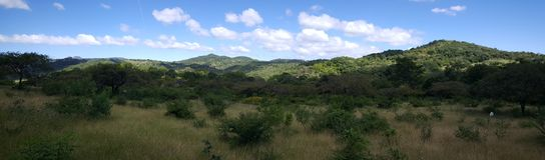 Landscape around the Cañón de Somoto. Panorama landscape around the Cañón de Somoto in Nicaragua royalty free stock image