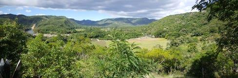 Landscape around the Cañón de Somoto. Panorama landscape around the Cañón de Somoto in Nicaragua stock photos