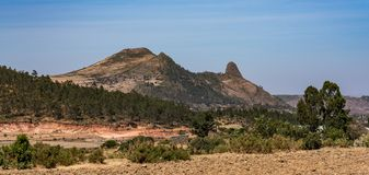 Landscape around historical city of Axum - Ethiopia. Landscape around historical city Aksum - Ethiopia, Africa royalty free stock photos