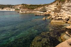 Landscape Around Marsascala Malta royalty free stock images