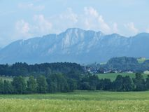 Landscape around Mondsee, Salzburgerland Royalty Free Stock Image