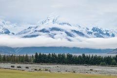 Landscape Around Mt.Cook/Aoraki National Park, New Zealand Stock Photo