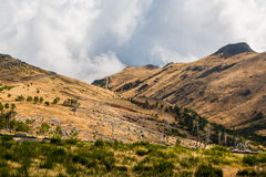 Landscape around Pico do Arieiro, Madeira island, Portugal Royalty Free Stock Photography