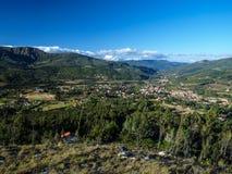 Landscape around Samaipata village Stock Photo