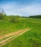 The landscape around the village of St. Michael, Ivanovo oblast, Stock Photography