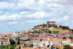 Landscape of Arraioilos village Royalty Free Stock Images