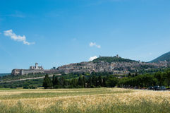 Landscape Assisi Umbria Italy Royalty Free Stock Photography