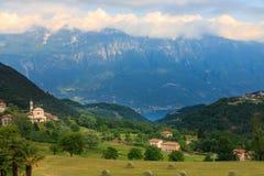 Landscape At Lake Garda Stock Photography