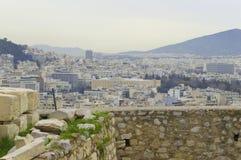 Landscape of Athens Stock Photos