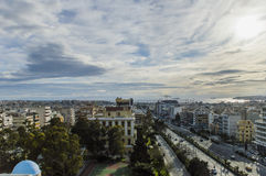Landscape of Athens Royalty Free Stock Photo