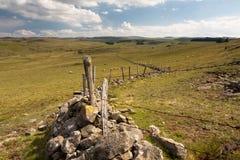 Landscape of Aubrac Stock Images