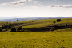 Landscape of Aubrac in Aveyron Royalty Free Stock Image