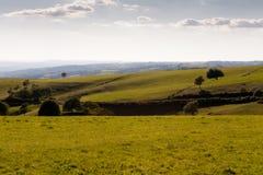 Landscape of Aubrac in Aveyron Royalty Free Stock Image