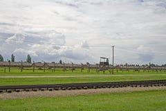 Landscape of Auschwitz Stock Photos