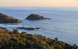 The landscape in australia Stock Image