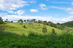 Landscape in Australian hinterland royalty free stock photos