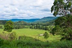 Landscape in Australian hinterland Royalty Free Stock Photo