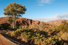 Landscape in the Australian outback Royalty Free Stock Photography