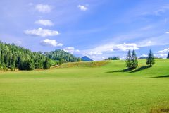 Landscape in Austria Royalty Free Stock Photo
