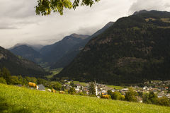 Landscape of Austrian Alps stock image