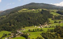 Landscape of Austrian Alps stock photo