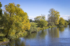 Landscape in Autumn Stock Photography
