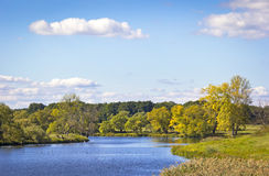 Landscape in Autumn Royalty Free Stock Photos