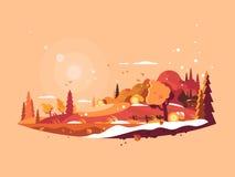 Landscape Autumn Vector Stock Photography