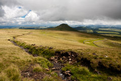 Landscape of Auvergne Royalty Free Stock Photography