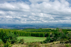Landscape In The Auvergne, France Royalty Free Stock Photography