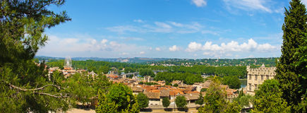 Landscape of Avinion, France Royalty Free Stock Photo