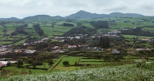 Landscape at the Azores Stock Photos