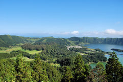 Landscape at Azores Royalty Free Stock Photo