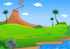 Landscape background Royalty Free Stock Images