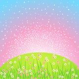 Landscape background dawn Royalty Free Stock Image