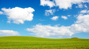 Landscape background - early spring Stock Photos