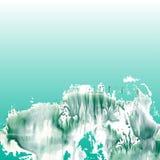 Landscape background. Underwater landscape. Marine background vector Royalty Free Stock Image