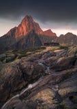 Landscape in Badlands, USA