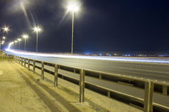 Landscape of Bahrain Night Time Royalty Free Stock Images
