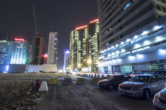 Landscape of Bahrain Night Time Stock Photo