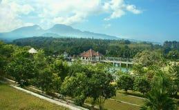 Landscape of Bali Stock Image