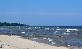 Landscape of Baltic seaside. Latvia, Kurzeme Stock Image