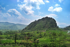 Landscape in Bandung Royalty Free Stock Images
