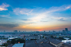 Landscape of Bangkok Royalty Free Stock Images
