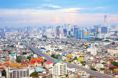 Landscape Bangkok city Stock Photos