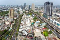 Landscape of Bangkok city Stock Images