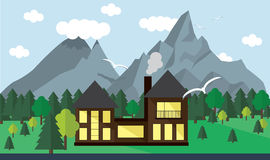 Landscape banner Royalty Free Stock Photo