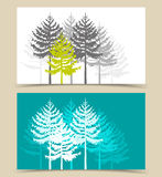 Landscape Banners Royalty Free Stock Photos