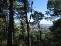 Landscape of barcelona Royalty Free Stock Photography